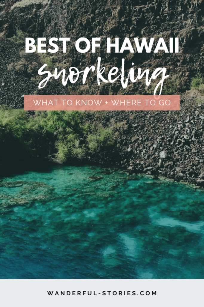 Best places for snorkeling in Hawaii