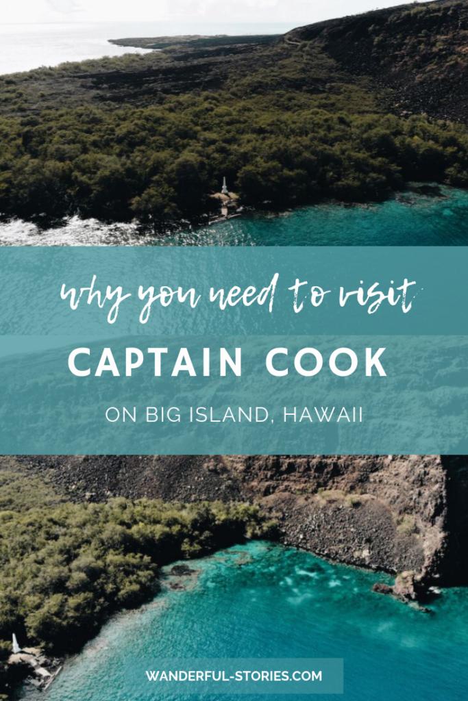 Snorkeling in Captain Cook
