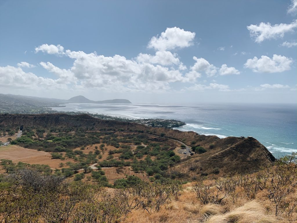 3 days in Oahu Hiking Diamond Head Crater