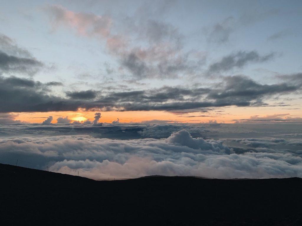 Sunset Haleakala