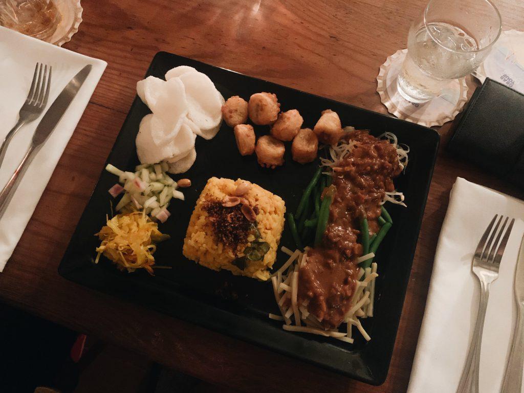 Dinner Landhuis Daniel
