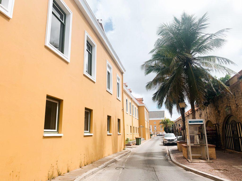 Yellow street Willemstad