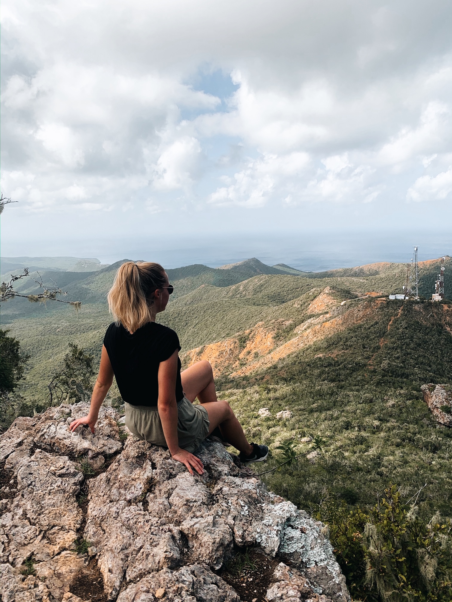 View from Mount Christoffel hiking