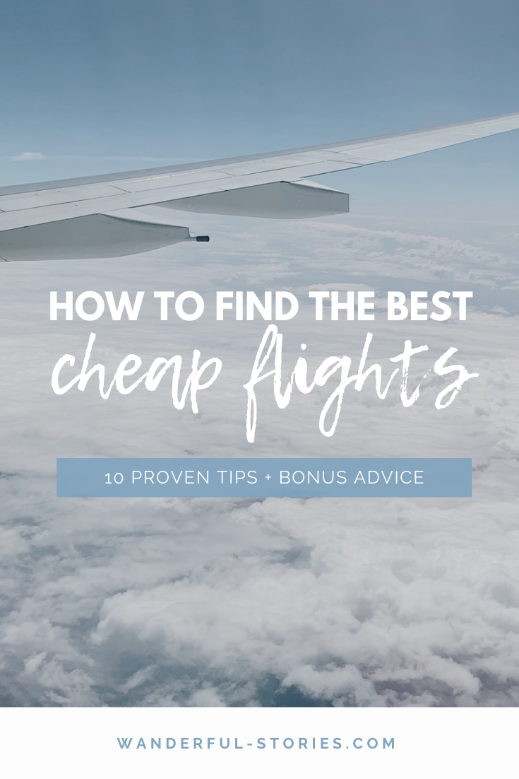 tips for booking cheap international flights