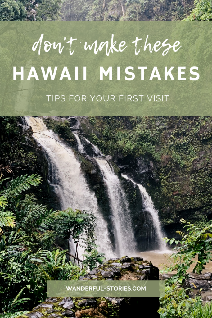 mistakes to avoid in Hawaii