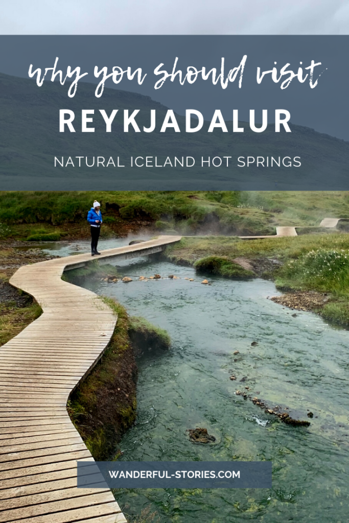 Reykjadalur hot springs thermal river