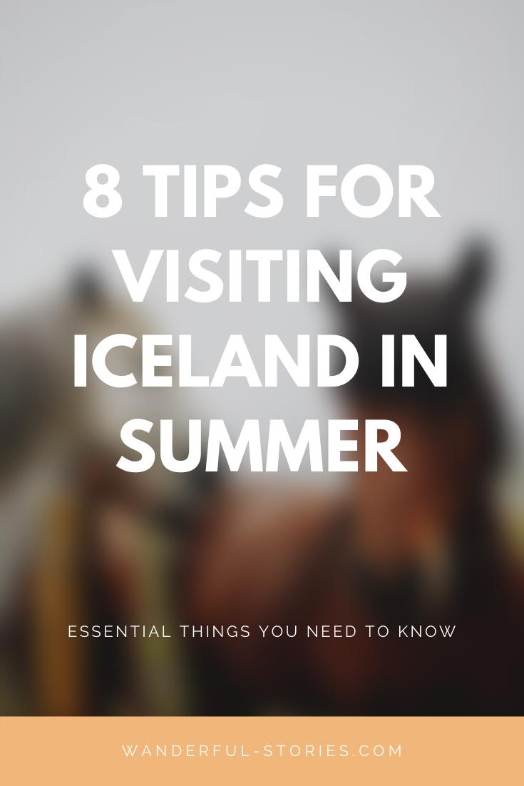 iceland summer visit tips