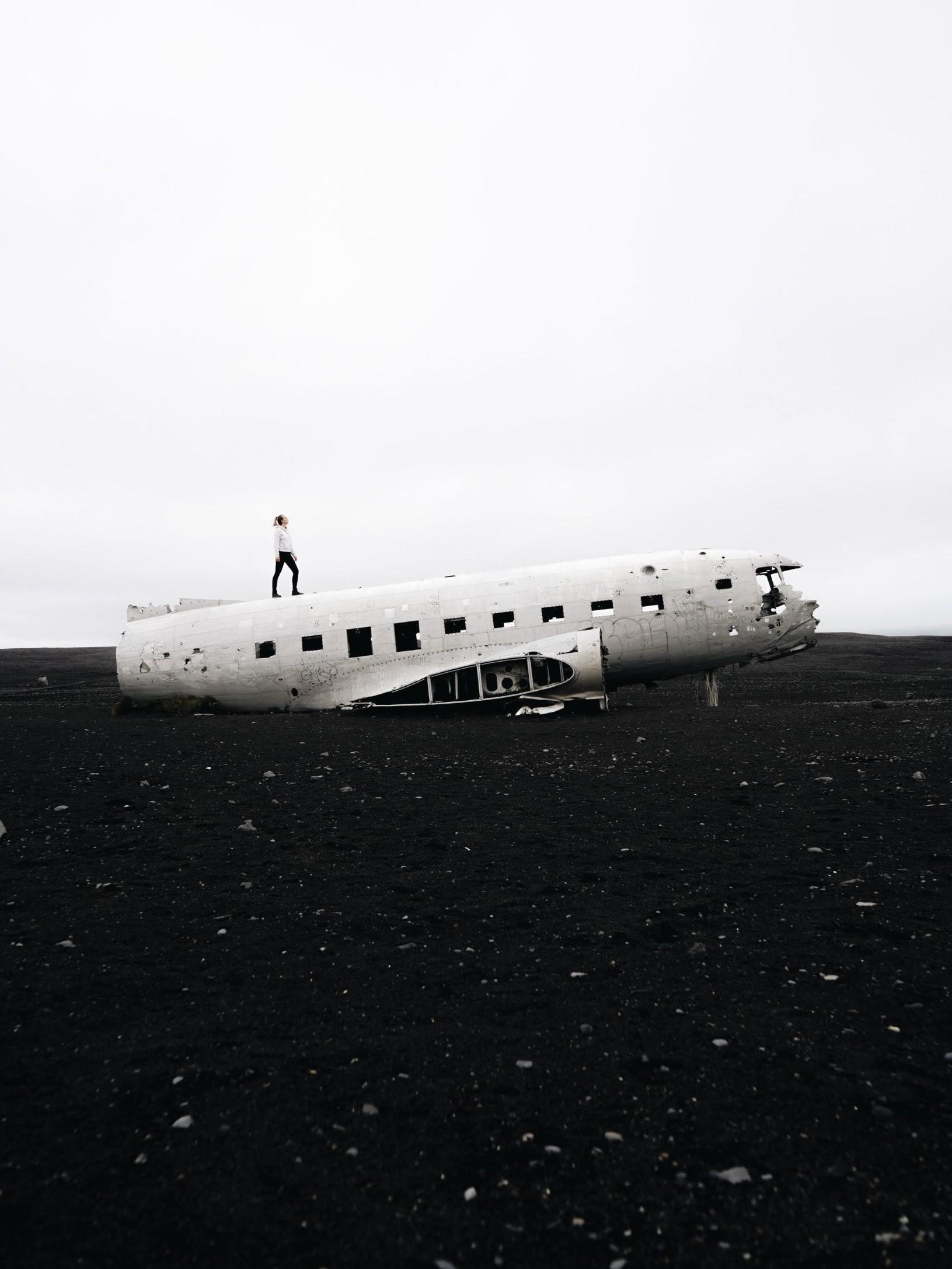 Iceland highlights Solheimasandur Plane Wreck Wanderful Stories