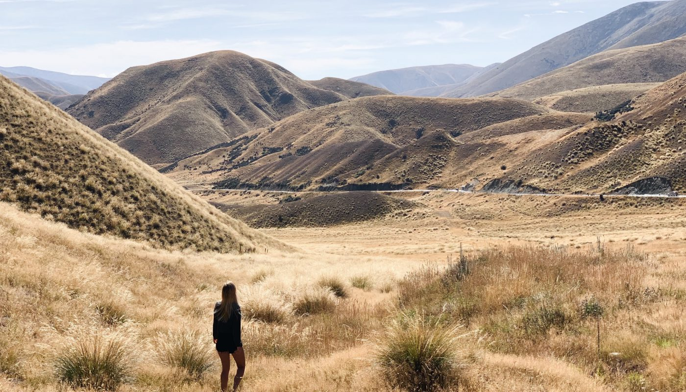 Lindis Pass NZ