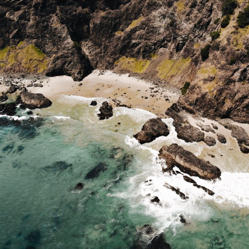 Shoreline Cape Reinga